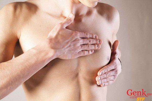 Vùng ngực đột nhiên to lên bất thường