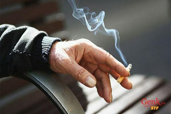 Khói thuốc lá có thể gây ung thư gan