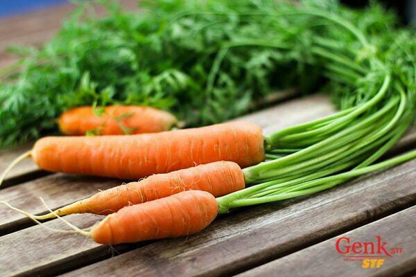 Cà rốt giúp ngăn ngừa ung thư cổ tử cung hiệu quả