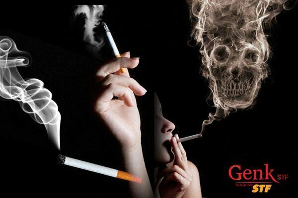 Hút thuốc là một yếu tố nguy cơ đáng kể cho bệnh ung thư miệng.