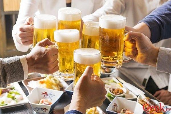 Hạn chế bia rượu. các chất kích thích