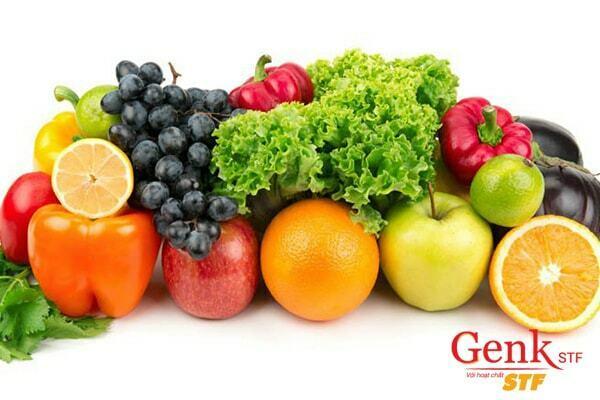 Ăn nhiều rau xanh và trái cây tươi giúp phòng ngừa ung thư