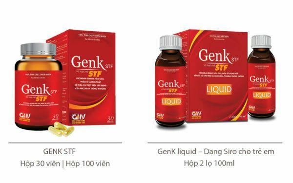 GenK STF – Phòng ngừa ung thư vòm họng và hỗ trợ điều trị ung thư