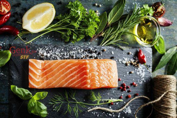 Cá là nguồn cung cấp chất béo tốt cho bệnh nhân ung thư gan