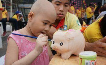 Phiên chợ 0đ dành cho bệnh nhi ung thư