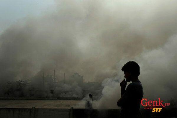 Những người làm việc trong môi trường ô nhiễm lâu có nguy cơ ung thư phổi rất cao