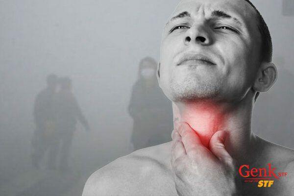 Khói bụi từ ô nhiễm không khí gây ra ung thư miệng cao