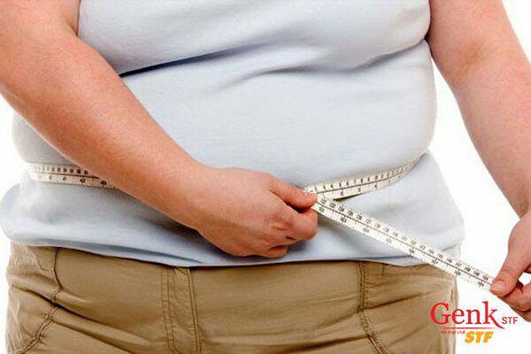 Vòng eo lớn, nhiều mỡ có thể làm tăng nguy cơ ung thư ruột kết