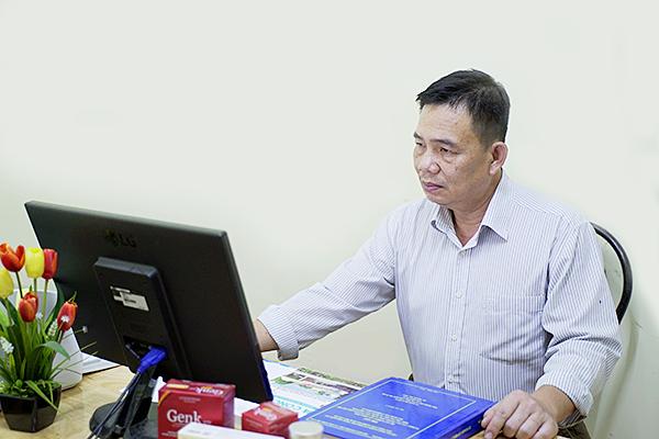 """Ts Nguyễn Duy Nhứt – Chủ nhiệm đề tài """"Nghiên cứu quy trình công nghệ tạo nguyên liệu hỗ trợ điều trị ung thư từ rong nâu Việt Nam"""""""