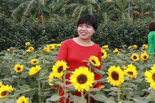 Cô giáo Nguyễn Thị Hường (Thạch Thất, Hà Nội)