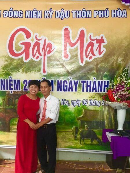 Vợ chồng chị Hường – anh Bích