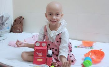 GoldHealth Việt Nam đồng hành cùng bé gái mắc ung thư xương