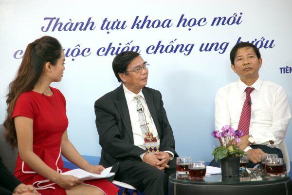 PGS.TS Vũ Huy Oánh chia sẻ trong tọa đàm