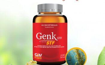 Genk STF là sản phẩm hỗ trợ giảm nguy cơ mắc ung bướu, giảm tác dụng phụ của hóa trị, xạ trị và sau phẫu thuật rất hiệu quả