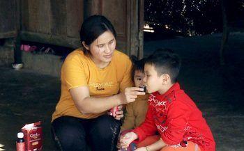 Điều kỳ diệu cho sức khỏe của bé trai bị ung thư máu