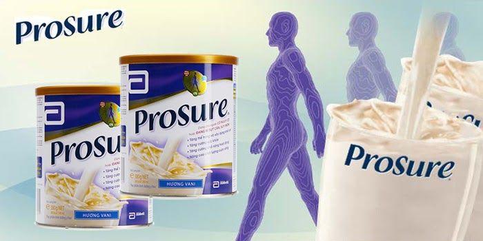 Sữa Prosure cho người bị ung thư