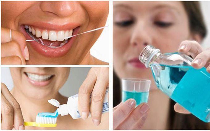 Vệ sinh răng miệng đúng cách là một trong những cách phòng ngừa ung thư miệng