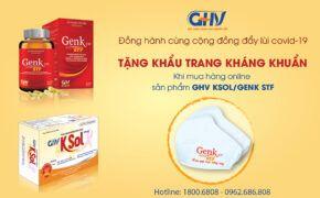 GoldHealth Việt Nam tặng 20000 khẩu trang kháng khuẩn