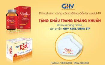 GoldHealth Việt Nam tặng 20.000 khẩu trang kháng khuẩn