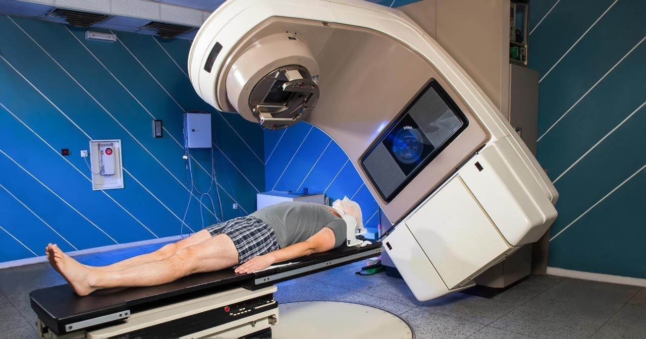 Chữa ung thư phổi bằng phương pháp xạ trị
