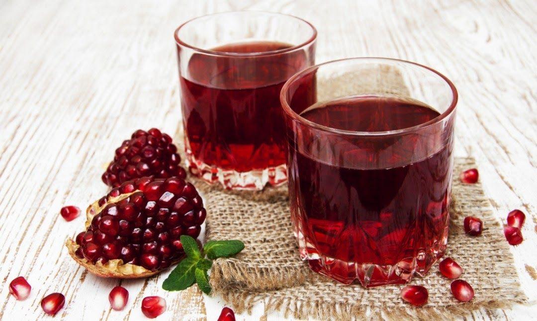 Làm nước uống giảm mỡ máu với lựu