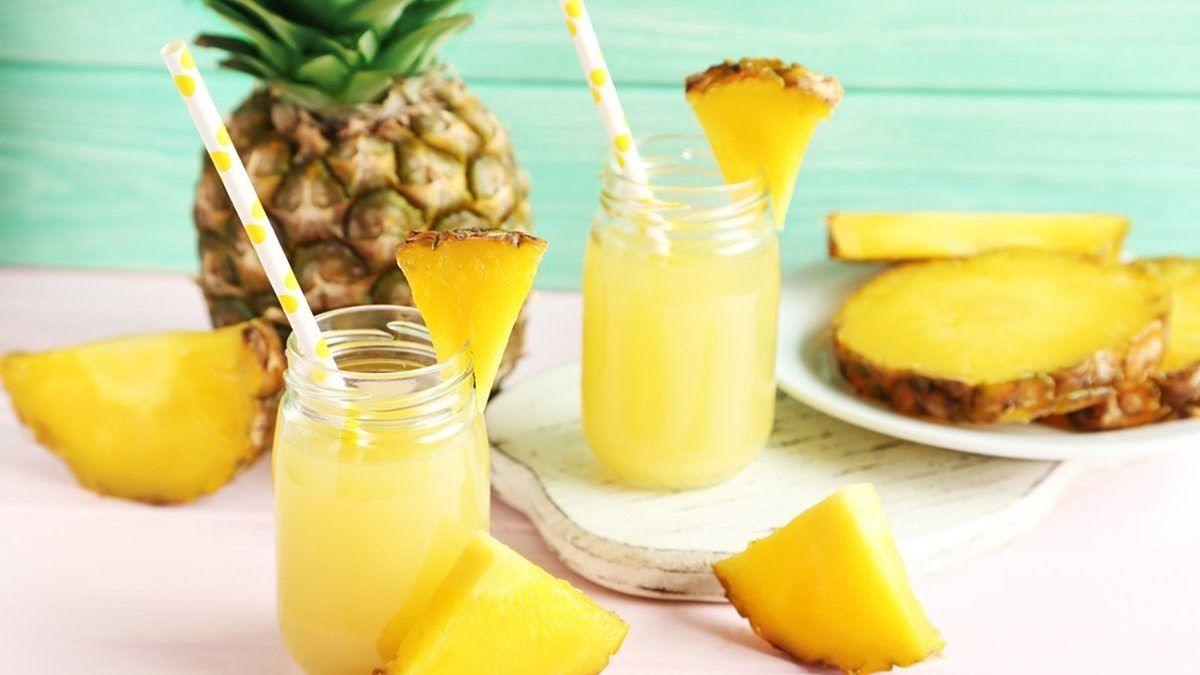 Nước ép cam và dứa là một trong những loại thức uống tăng sức đề kháng tốt nhất