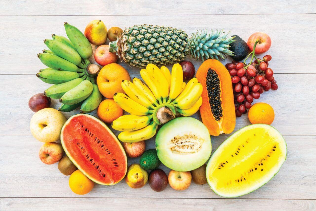 Chế độ ăn uống nhiều trái cây tươi giúp tăng cường sức khỏe, giảm mệt mỏi