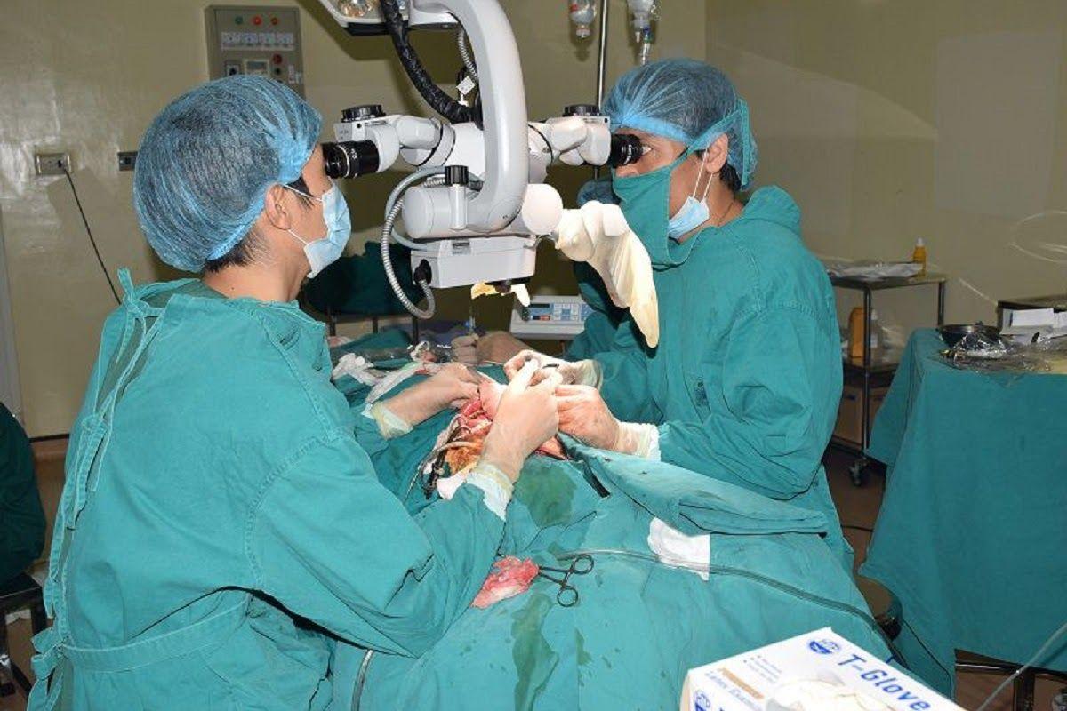 Phẫu thuật ung thư miệng