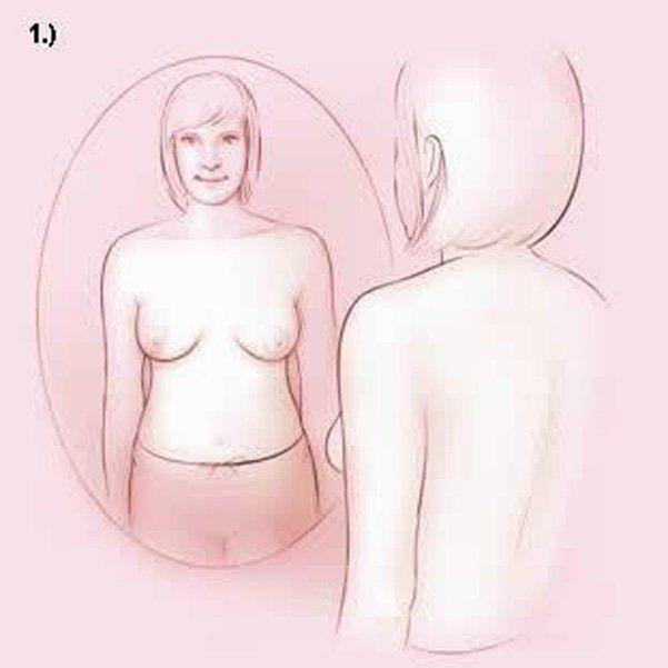 Thả lỏng hai tay dọc theo thân