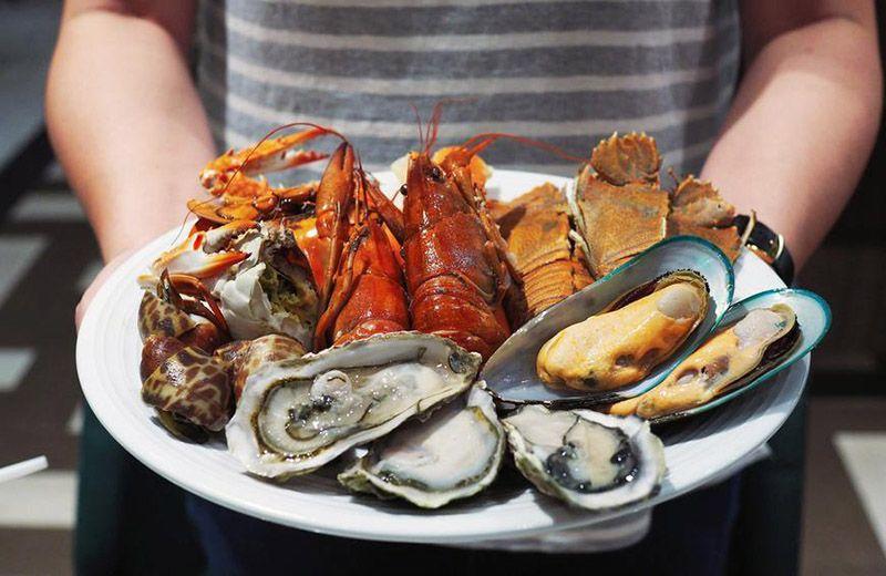 Nếu đang tìm kiếm đồ ăn tăng sức đề kháng - không thể bỏ qua hải sản