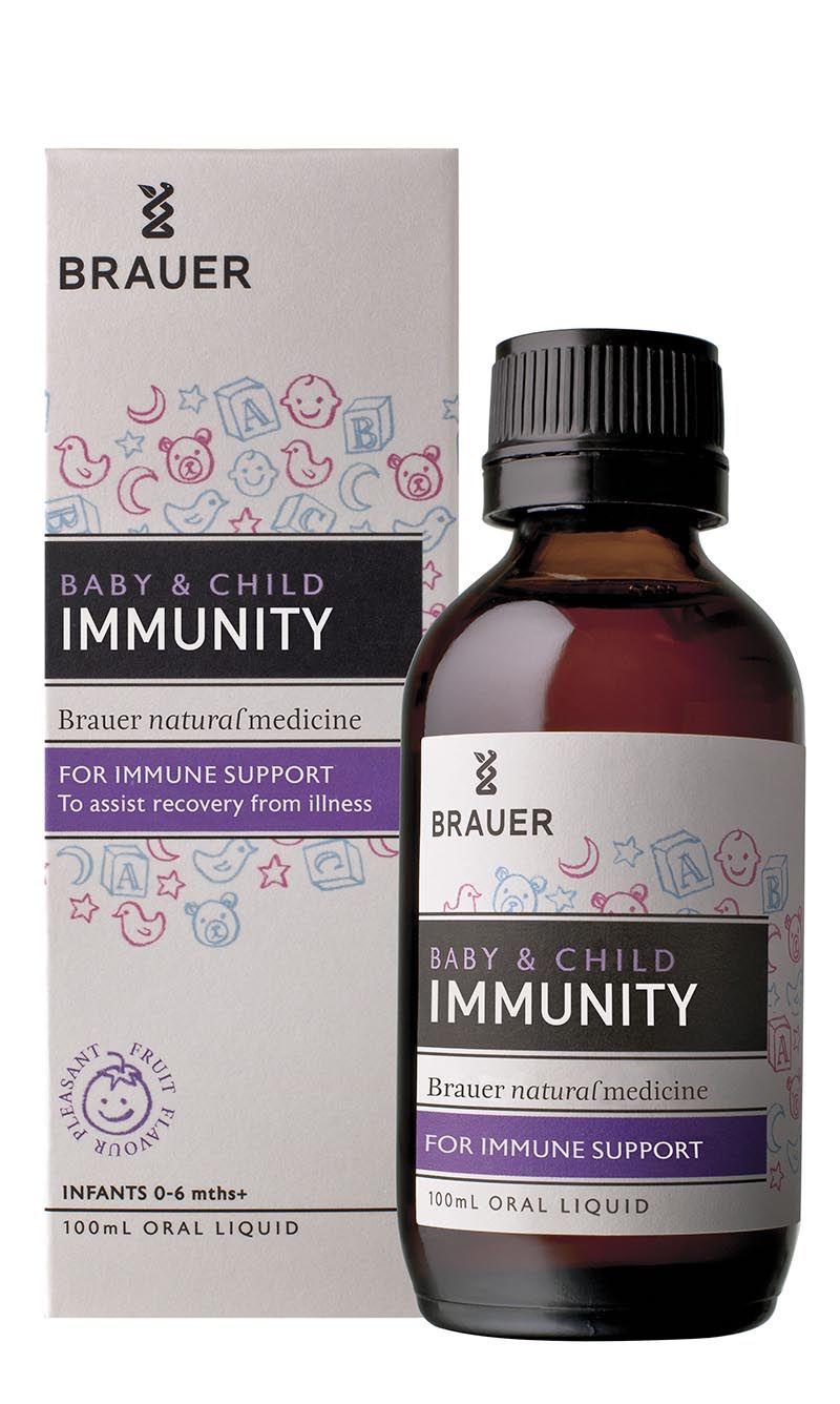 Brauer Baby & Child Immunity hỗ trợ tăng đề kháng đường hô hấp cho trẻ hiệu quả