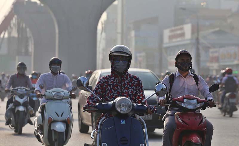 Môi trường ô nhiễm khói bụi là một trong những nguyên nhân gây bệnh