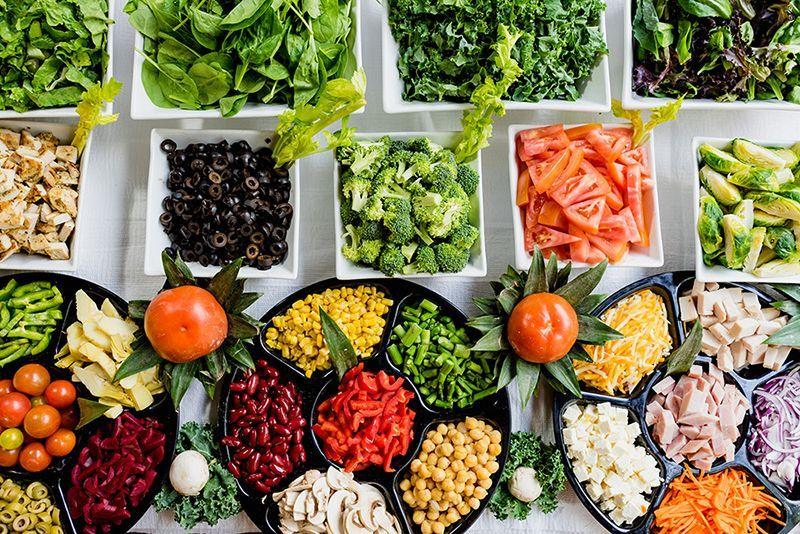Thực phẩm vitamin C ít Cholesterol