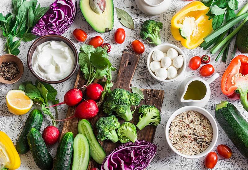Xây dựng chế độ ăn uống lành mạnh, giàu dinh dưỡng