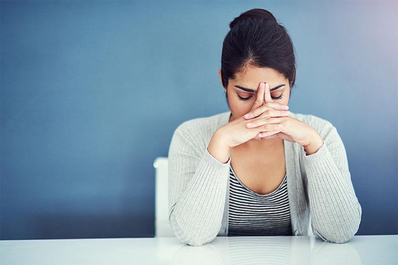 Trầm cảm, căng thẳng có thể là dấu hiệu của bệnh