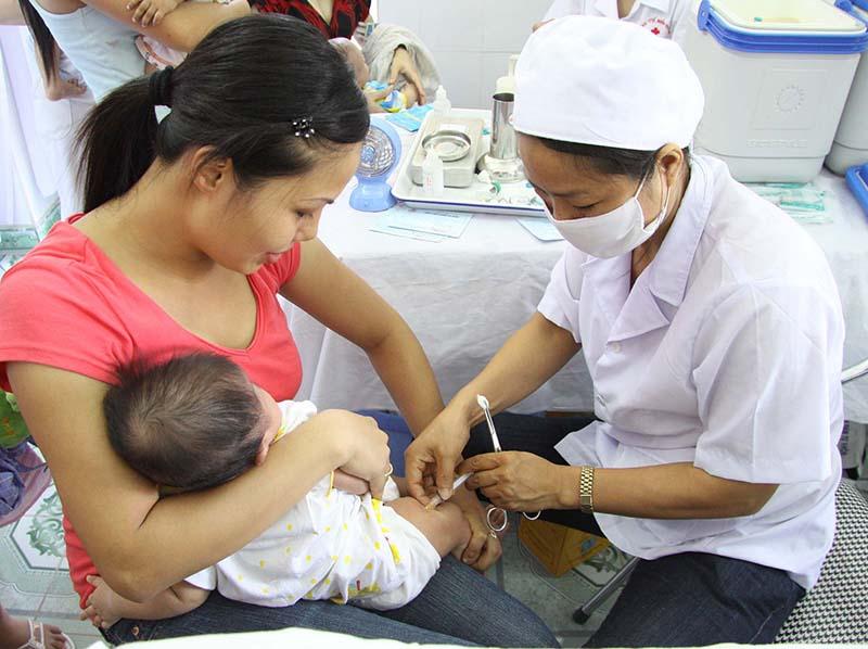Tiêm phòng vacxin là biện pháp phòng chống các bệnh có liên quan đến ung thư