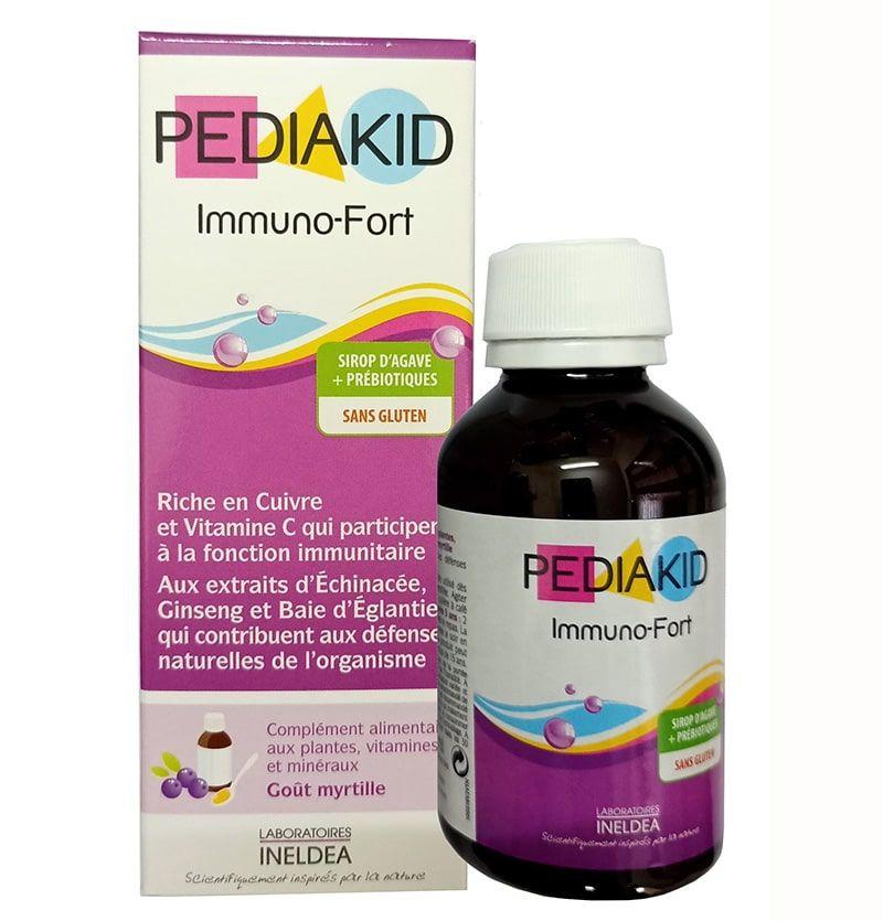 Siro Pediakid Immuno Fort giúp trẻ cải thiện chức năng hệ miễn dịch
