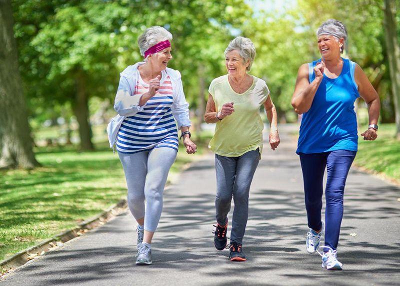 Tập thể dục giúp tinh thần thoải mái và tăng cường sức đề kháng
