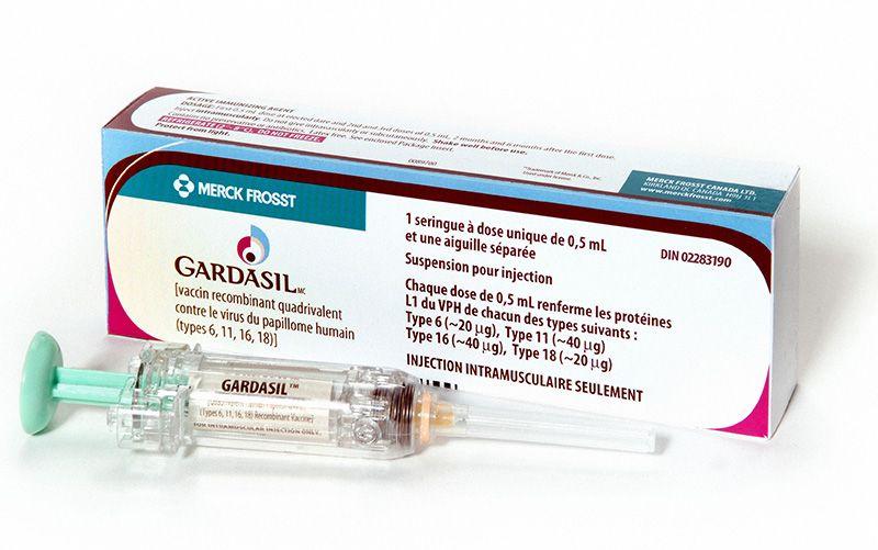 Vacxin Gardasil ngăn ngừa virus HPV gây ung thư cổ tử cung type 6, 11, 16, 18
