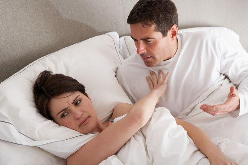 Người bệnh có thể giảm ham muốn tình dục sau khi thực hiện phương pháp xạ trị cổ tử cung
