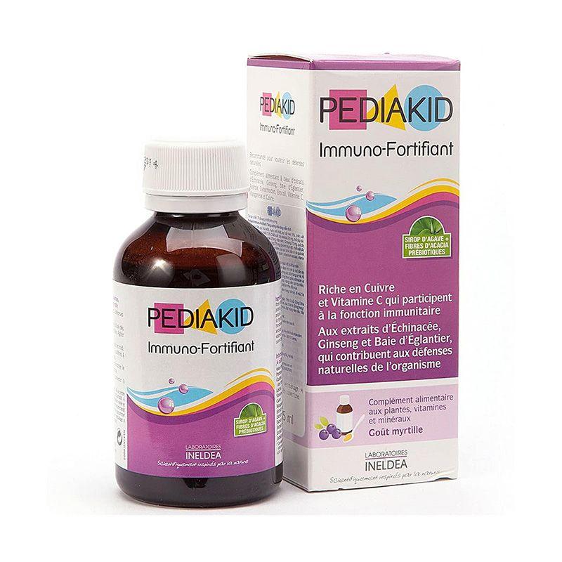 Pediakid hỗ trợ tăng cường sức đề kháng cho trẻ, hạn chế nguy cơ mắc bệnh trong thời tiết giao mùa cho bé