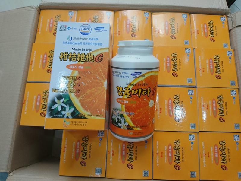 Viên ngậm Vitamin C giúp tăng cường sức đề kháng và bảo vệ sức khỏe