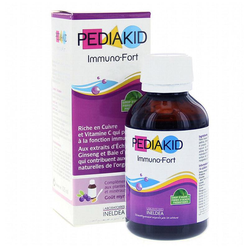 Pediakid Immuno - Fort sản phẩm được nhiều bà mẹ tin dùng