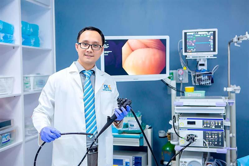 Chẩn đoán ung thư đại tràng bằng phương pháp nội soi tiêu hóa