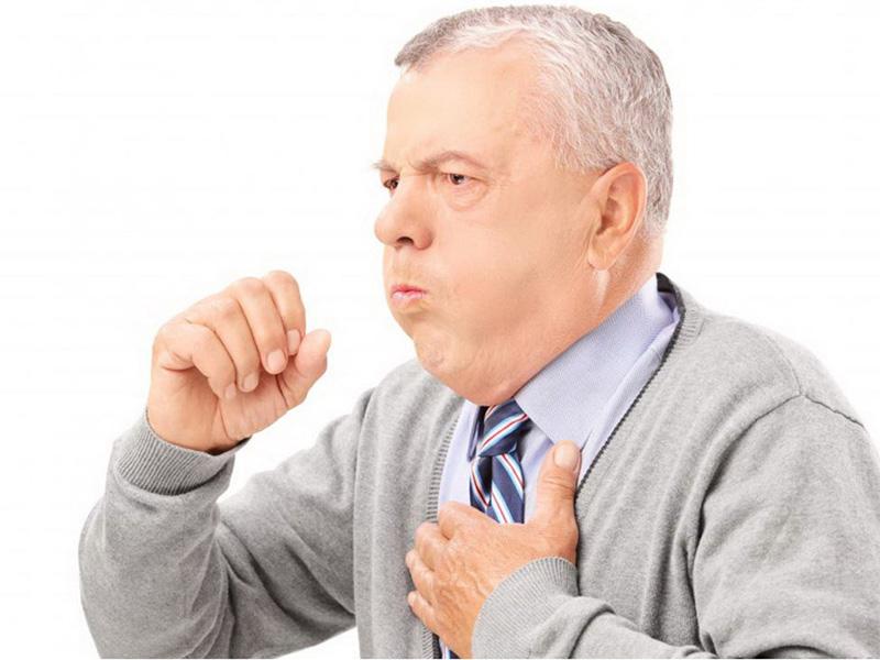 Bệnh tiến triển nặng khiến cơn ho kéo dài và xuất hiện nhiều hơn trước