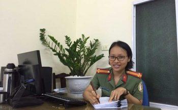 Nghị lực nữ chiến sĩ công an nhân dân