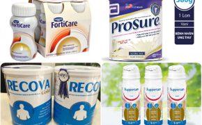 Tổng hợp 7 loại sữa cho người ung thư tốt nhất hiện nay
